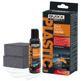 Quixx Black Plastic Colour