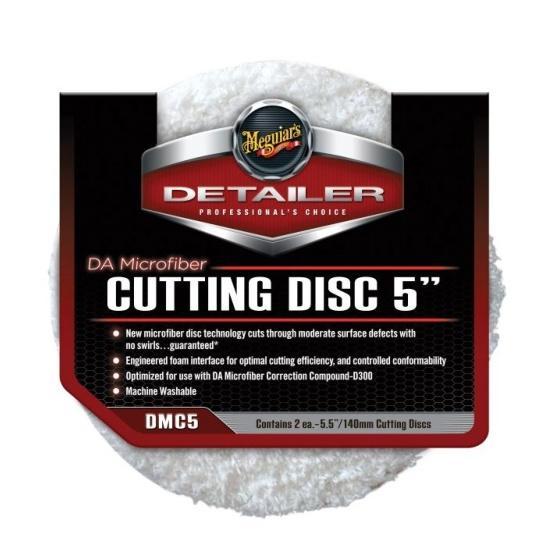 Meguiars DA Microfiber Cutting Disc 5inch