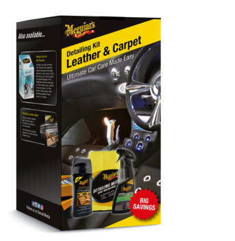 meguiars LEATHER AND CARPET DETAILING KIT