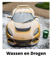 wassen van je auto