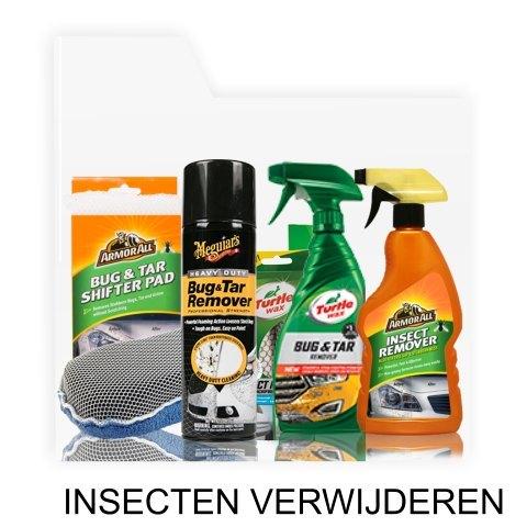 insecten verwijderen