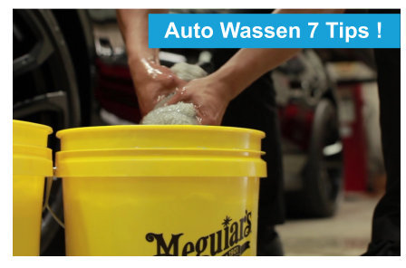 7 tips om je auto te wassen