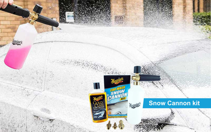 meguiars snow foam cannon kitpoo