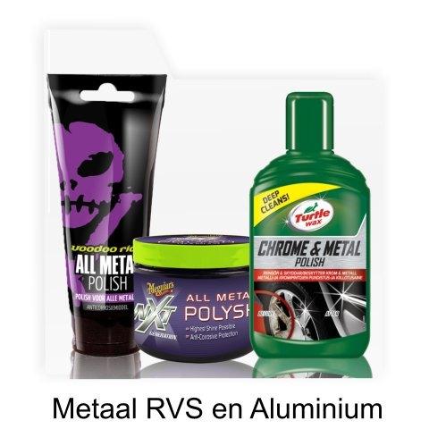 metaal rvs en aluminium