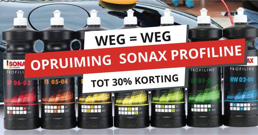 sonax profiline 30% korting