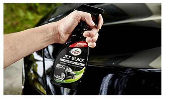 turtle wax black spray detailer