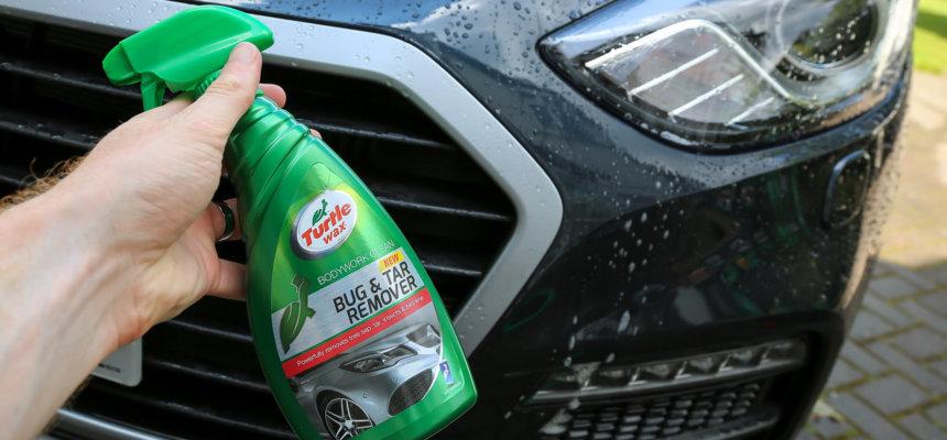insecten verwijderen van je auto