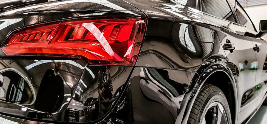 wax en polijsten auto