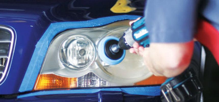 koplampen polijsten van je auto