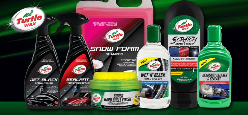 turtle wax producten om je auto te poetsen