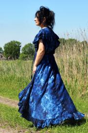Ibzia Dress Blauw