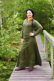 Luna Long skirt Groen