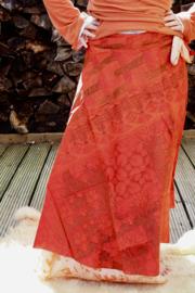 Bohemian Goddess Silk Skirt 248
