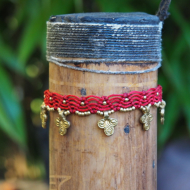 Anklet Maia Red