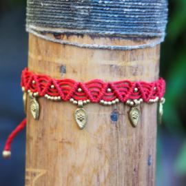 Anklet Little Goddess Red