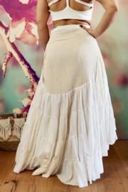 Avalon Flamenco Skirt Gebroken wit