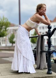 Flamenco Skirt Wit