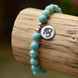 Turquoise Ohm Armband