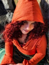 Ishtar Top Bamboo/Cotton Oranje