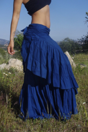 Flamenco Skirt Blauw