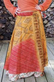 Bohemian Goddess Silk Skirt 163