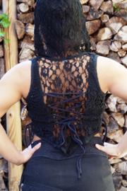 Layla Hooded Zwart