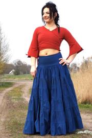 Real Gypsy Skirt Blauw