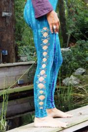 Tie Dye Legging Turquoise