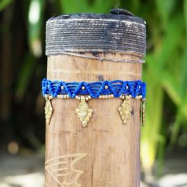 Anklet Gaia Blauw