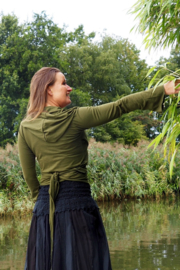 Ishtar Top Bamboo/Cotton Groen