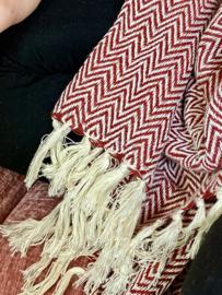 Sjaal Herringbone