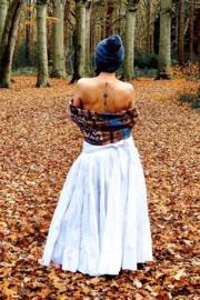 Real Gypsy Skirt  Wit en Gebroken Wit