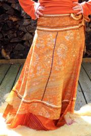 Bohemian Goddess Silk Skirt 252