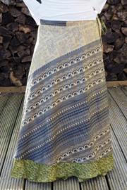 Bohemian Goddess Silk Skirt 195