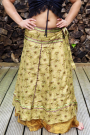Goddess Silk Skirt Extra Breed 337