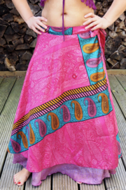 Bohemian Goddess Silk Skirt 257