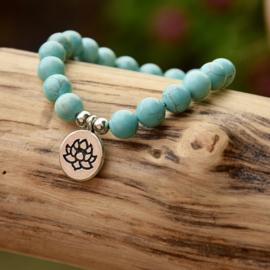 Turquoise Lotus Armband