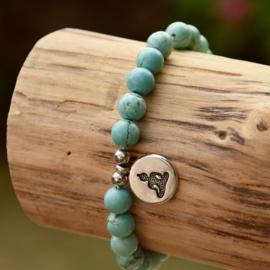 Turquoise Buddha Armband