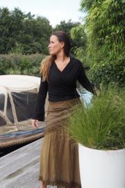 Ishtar Top Bamboo/Cotton Zwart