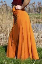 Luna Long skirt Oranje