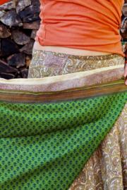 Bohemian Goddess Silk Skirt 176