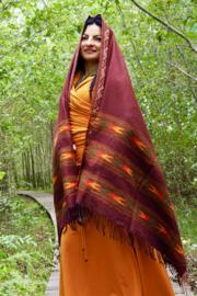 Bali Sjaal Omslagdoek Bruin