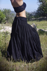 Real Gypsy Skirt Zwart