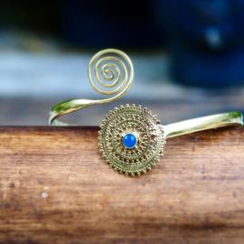 Tribal Bovenarm Infinity Blue