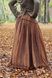 Queen Skirt Warm Bruin