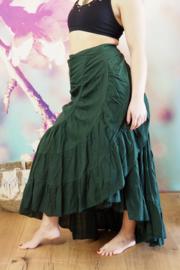Avalon Flamenco Skirt Groen