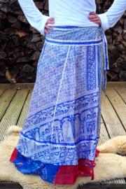 Bohemian Goddess Silk Skirt 220