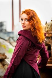 Pixie Leef Jacket Marroon Rood