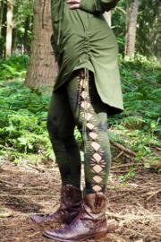Tie Dye Legging Groen