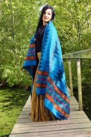 Carma Sjaal Turquoise